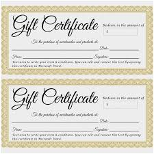 Make Your Own Gift Certificate Templates Free Create Your Own Gift Certificate Free New Gift Certificate Templates