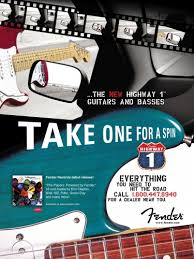 the stratocaster since 2000 fender guitarchive fender highway one series ad from 2003 featuring the highway one stratocaster