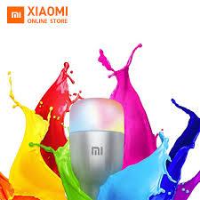Original <b>Xiaomi</b> Mi <b>LED Smart Bulb</b> White ans Colour 10W 800 ...
