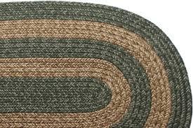 2 x 5 runner braided rug