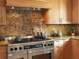 image of rustic kitchen backsplash idea house designing idea pros and cons of a tumbled