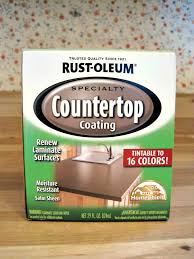 rustoleum speciality countertop coating painted countertops