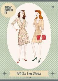 Indie Sewing Patterns Mesmerizing Favorite Indie Sewing Patterns 48's Tea Dress Sew Mama Sew
