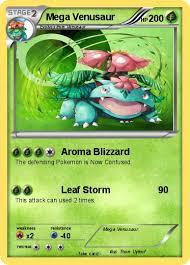 Pokémon Mega Venusaur 15 15 Aroma Blizzard My Pokemon Card