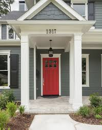 residential front doors craftsman. Amazing Of Residential Front Doors Red With Best 25 Ideas On Pinterest Exterior Craftsman O
