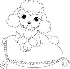 Poodle Stock Vectors Royalty Free Poodle Illustrations Depositphotos