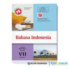 Soal uts bahasa indonesia kelas 7 semester 1 dan kunci jawaban kurikulum 2013. Jual Buku Pr Bahasa Indonesia Kelas 7 Semester 1 Lks Intan 2020 2021 Kab Sidoarjo Buku Kurnas Tokopedia