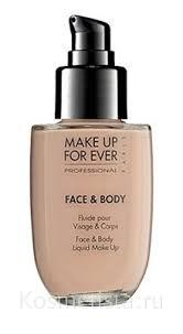 <b>Тональный крем</b> для лица и тела <b>Make</b> Up For Ever Face And ...