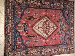 handmade and woold old persian mahal semi antique rug azra oriental