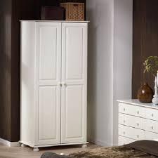 Steens Richmond White Bedroom Furniture 2 Door Double Wardrobe ...