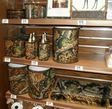 cabin bath accessories rustic bathroom decor camping waterfowl