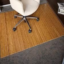 bamboo mats for floor anji mountain roll up bamboo chair mat without lip bamboo mats rugs the home depot walnut