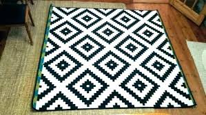 medium size of black and white striped carpet tiles indoor outdoor rug courtyard stripe bone home