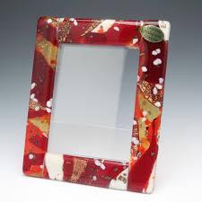 enjoy the venetian glass photo frame frames graniglia red venetian glass craftsmanship