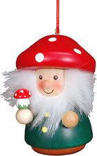 Christian Ulbricht Mushroom Man Christmas Ornament