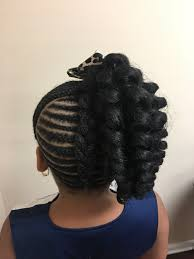 Crochet Braid Pattern For Ponytail Unique Kids Cornrows With Crochet Ponytail SadeSapphire