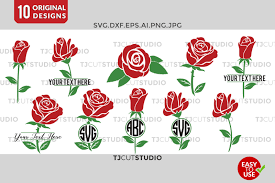 Huge library of free svg files to download instantly and create your diy projects today! Free Flower Monogram Rose Svg Circle Monogram Rose Monogram Frame Svg Crafter File