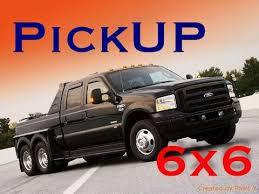 PickUP truck 6x6 - YouTube