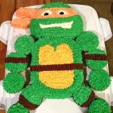 Ninja Turtle Cupcake Cake Teenage Mutant Y Ideas Fantastic Turtles B