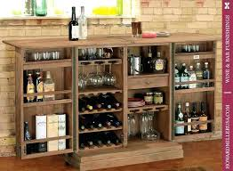 bar storage cabinet classic portable two door wine console miller