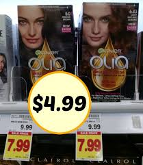 If it's not free, it'll be cheap with this high value coupon! New Garnier Olia Haircolor Coupon 4 99 At Kroger