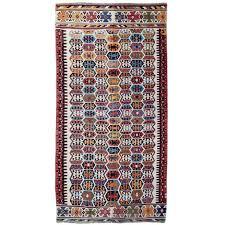antique anatolian turkish kilim rug for