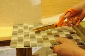 glass tile diy yes you can install your own backsplash with