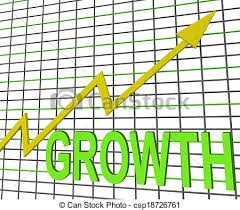 Chart Showing Increase Growth Graph Chart Shows Increase Sales Profit