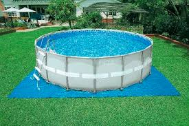 Above ground swimming pool Underground Aboveground Swimming Pool Steel Wall Outdoor Archiexpo Aboveground Swimming Pool Steel Wall Outdoor 28326 Intex