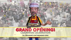 President s Day Weekend Chainwide Celebration Bob s Discount