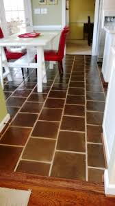 12x12 Manganese Saltillo Mexican Terra Cotta Kitchen Floor Tiles   Supplied  By Rustico Tile And Stone, Leander TX