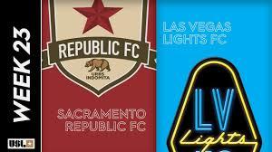 Sacramento Republic Vs Las Vegas Lights Sacramento Republic Fc Vs Las Vegas Lights Fc August 7th 2019