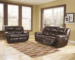Mahogany Living Room Furniture Buy Ashley Furniture Rouge Durablend Mahogany Reclining Living