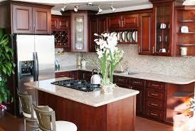 Cherry Cabinet Kitchens Kitchen Cabinets 56 Black Metal Microwave Oven Cabinet Kitchen