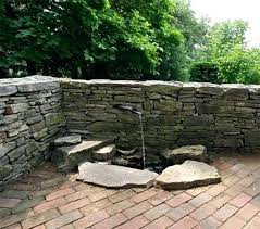 wall water features stone wall water fountain sensational ideas 7 water outdoor wall water features perth wall water features extraordinary