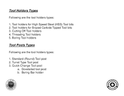 lathe tool holder types. tool holders typesfollowing lathe holder types