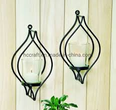 china black wall sconce candle holder