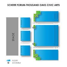 Scherr Forum Thousand Oaks Civic Arts Tickets