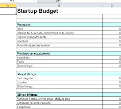 Business Start Up Costs Template Business Plan Startup Costs Template Business Plan Startup Costs