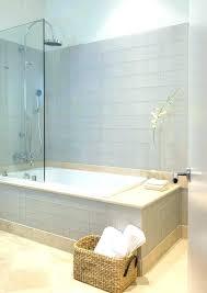 bathtub shower combos modern combo home design tub bathroom with basket glass doors sho tub shower combo