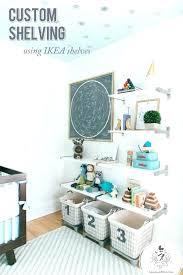 baby room storage ideas nursery shelf for