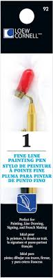 fast great customer support satisfaction guaranteed description loew cornell s fine line painting pen