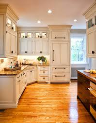 st louis standard refrigerator depth with traditional a kitchen and recessed lighting glass upper cabinets