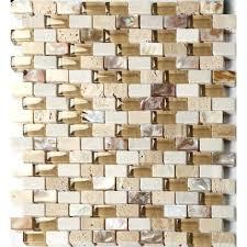 mohawk glass mosaic tile grand terrace white lace hexagon x glass and stone mosaic tile kitchen