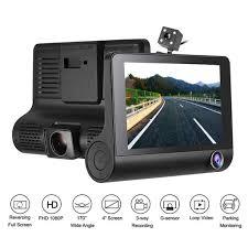 <b>3 Lens WDR Dash</b> Camera 4 Inch Display HD 1080P Car DVR ...