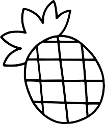 Coloriage Ananas Facile Imprimer Sur Coloriages Info