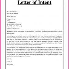 How To Write A Letter Of Intent For A Job Sample Letter Of Intent For Job New Position Sample Archives