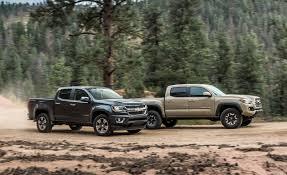2015 Chevrolet Colorado LT Crew Cab 4WD vs. 2016 Toyota Tacoma TRD ...