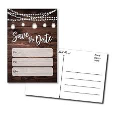 Blank Save The Date Cards Wedding Save The Date Cards Amazon Com