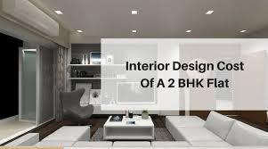 best interior designs. Furniture Flat Design Interior Cost Of A 2 BHK Best Architects Designs
